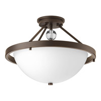 Progress Compass 2 Light Semi-Flush in Antique Bronze P3614-20