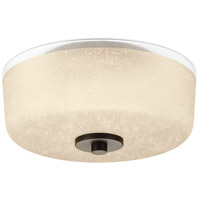 Alexa 2 Light 12 inch Antique Bronze Flush Mount Ceiling Light