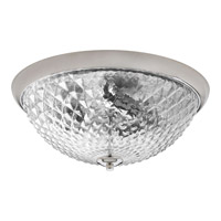 Progress Entice 3 Light Flush Mount in Polished Nickel P3627-104