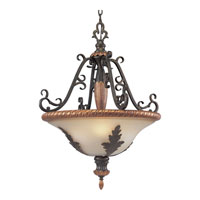 Progress Lighting Thomasville Provence 3 Light Hall & Foyer in Old Iron Crackle P3639-92C