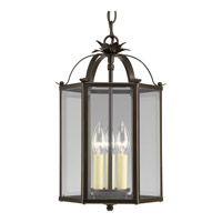 Progress Lighting Flat Glass 3 Light Hall & Foyer in Antique Bronze P3645-20