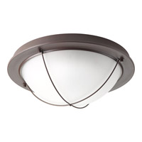 Portal LED 14 inch Antique Bronze Flush Mount Ceiling Light