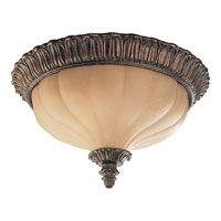 Progress Lighting Thomasville Beaumont 2 Light Flush Mount in Golden Brandy Crackle P3662-02C