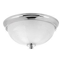 Lucky 3 Light 15 inch Polished Chrome Flush Mount Ceiling Light
