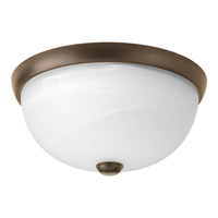 Random 1 Light 11 inch Antique Bronze Close-to-Ceiling Ceiling Light