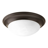Signature 2 Light 14 inch Antique Bronze Close-to-Ceiling Ceiling Light in Alabaster Glass