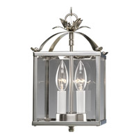 Progress Lighting Flat Glass 2 Light Hall & Foyer in Brushed Nickel P3690-09 alternative photo thumbnail