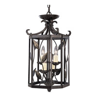 Progress Lighting Eden 4 Light Hall & Foyer in Forged Bronze P3696-77