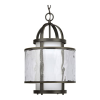 Bay Court 1 Light 12 inch Antique Bronze Hall & Foyer Ceiling Light