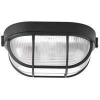 Bulkheads 1 Light 6 inch Black Outdoor Ceiling Wall