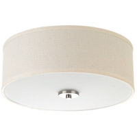 Inspire 2 Light 13 inch Brushed Nickel Semi-Flush Mount Ceiling Light