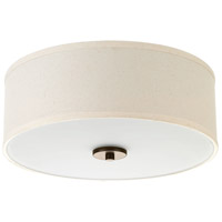 Inspire 2 Light 13 inch Antique Bronze Semi-Flush Mount Ceiling Light