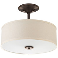 Inspire 2 Light 13 inch Antique Bronze Flush Mount Ceiling Light