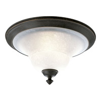 Melbourne 3 Light 17 inch Espresso Flush Mount Ceiling Light