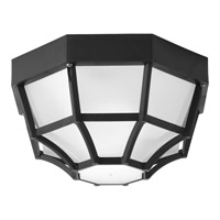 Progress Lighting Signature 1 Light Outdoor Close-to-Ceiling in Black P3719-31WB