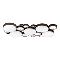 Progress Lighting Bingo 5 Light Flush Mount in Venetian Bronze P3737-7430K