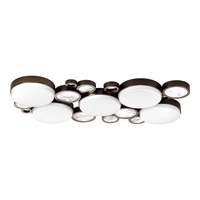 Progress Bingo 5 Light Flush Mount in Venetian Bronze P3737-7430K9