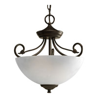 Pavilion 2 Light 14 inch Antique Bronze Semi-Flush Mount Ceiling Light