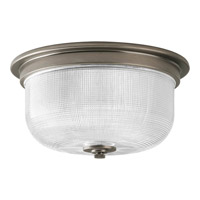 Archie 2 Light 12 inch Antique Nickel Close-to-Ceiling Ceiling Light