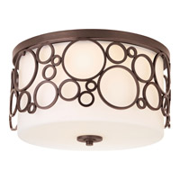 Progress Lighting Bingo 3 Light Flush Mount in Venetian Bronze P3752-74