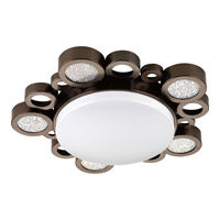 Progress Lighting Bingo 1 Light Flush Mount in Venetian Bronze P3756-7430K