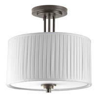 Progress P3759-84 Clayton 2 Light 13 inch Espresso Semi-Flush Mount Ceiling Light alternative photo thumbnail
