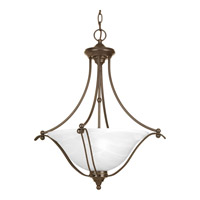 Progress Lighting Avalon 3 Light Foyer Pendant in Antique Bronze P3773-20