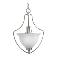 Progress Lighting Madison 1 Light Hall & Foyer in Brushed Nickel P3792-09