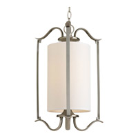 Progress P3799-09 Inspire 1 Light Brushed Nickel Pendant Ceiling Light Large
