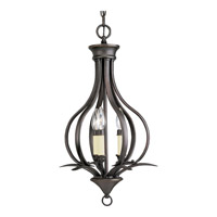 Progress Lighting Trinity 3 Light Hall & Foyer in Antique Bronze P3807-20