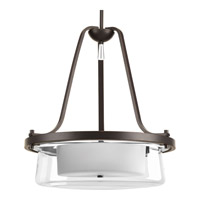 Progress Indulge 3 Light Foyer Pendant in Antique Bronze P3820-20
