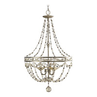 Progress Lighting Thomasville Chanelle 3 Light Hall & Foyer in Antique Silver P3825-34
