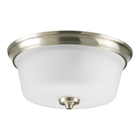 Lahara 2 Light 13 inch Brushed Nickel Flush Mount Ceiling Light