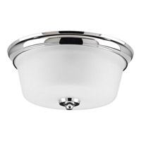 Lahara 2 Light 13 inch Chrome Flush Mount Ceiling Light