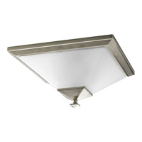 Progress P3852-09 North Park 2 Light 15 inch Brushed Nickel Close-to-Ceiling Ceiling Light