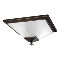 North Park 2 Light 15 inch Venetian Bronze Close-to-Ceiling Ceiling Light