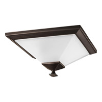 Progress Lighting North Park 1 Light Flush Mount in Venetian Bronze P3854-74