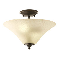 Progress Lighting Signature 2 Light Close-to-Ceiling in Antique Bronze P3855-20EUL