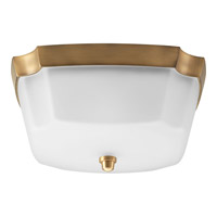 Progress Lighting Delta Addison 2 Light Flush Mount in Brushed Bronze P3870-109