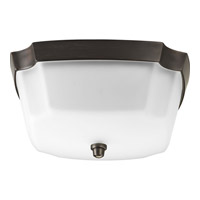 Progress Lighting Delta Addison 2 Light Flush Mount in Venetian Bronze P3870-74