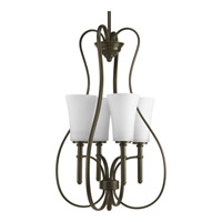 Progress Lighting Flirt 4 Light Hall & Foyer in Antique Bronze P3879-20