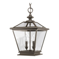 Crestwood 2 Light 11 inch Antique Bronze Hall & Foyer Ceiling Light