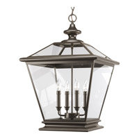 Progress P3904-20 Crestwood 4 Light 18 inch Antique Bronze Hall & Foyer Ceiling Light