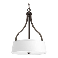 Arden 3 Light 18 inch Antique Bronze Inverted Pendant Ceiling Light