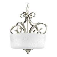 Progress Lighting Nicollette 3 Light Hall & Foyer in Brushed Nickel P3917-09