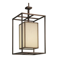 Haven 1 Light 14 inch Copper Bronze Hall & Foyer Ceiling Light in Stonehenge