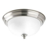 Progress Lighting Signature 1 Light Close-to-Ceiling in Brushed Nickel P3924-09ET