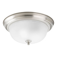 Progress Lighting Signature 2 Light Close-to-Ceiling in Brushed Nickel P3925-09ET