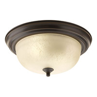 Progress Lighting Signature 2 Light Close-to-Ceiling in Antique Bronze P3925-20EUL