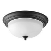 Melon 2 Light 13 inch Forged Black Flush Mount Ceiling Light in 13-1/4